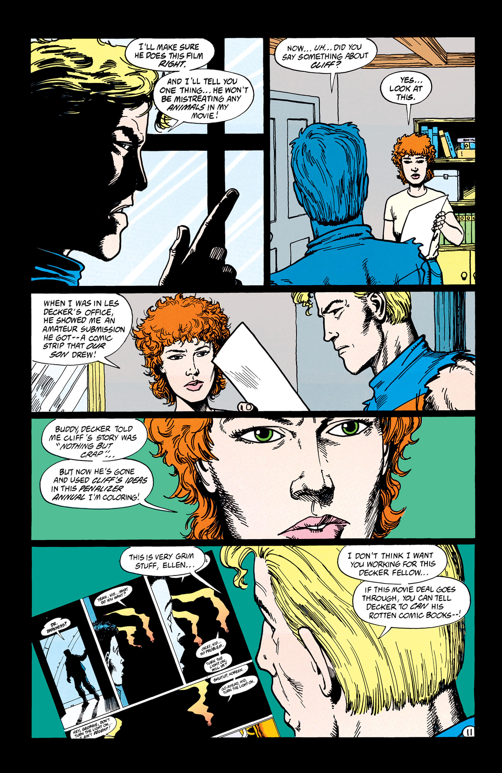 Read online Animal Man (1988) comic -  Issue #45 - 12