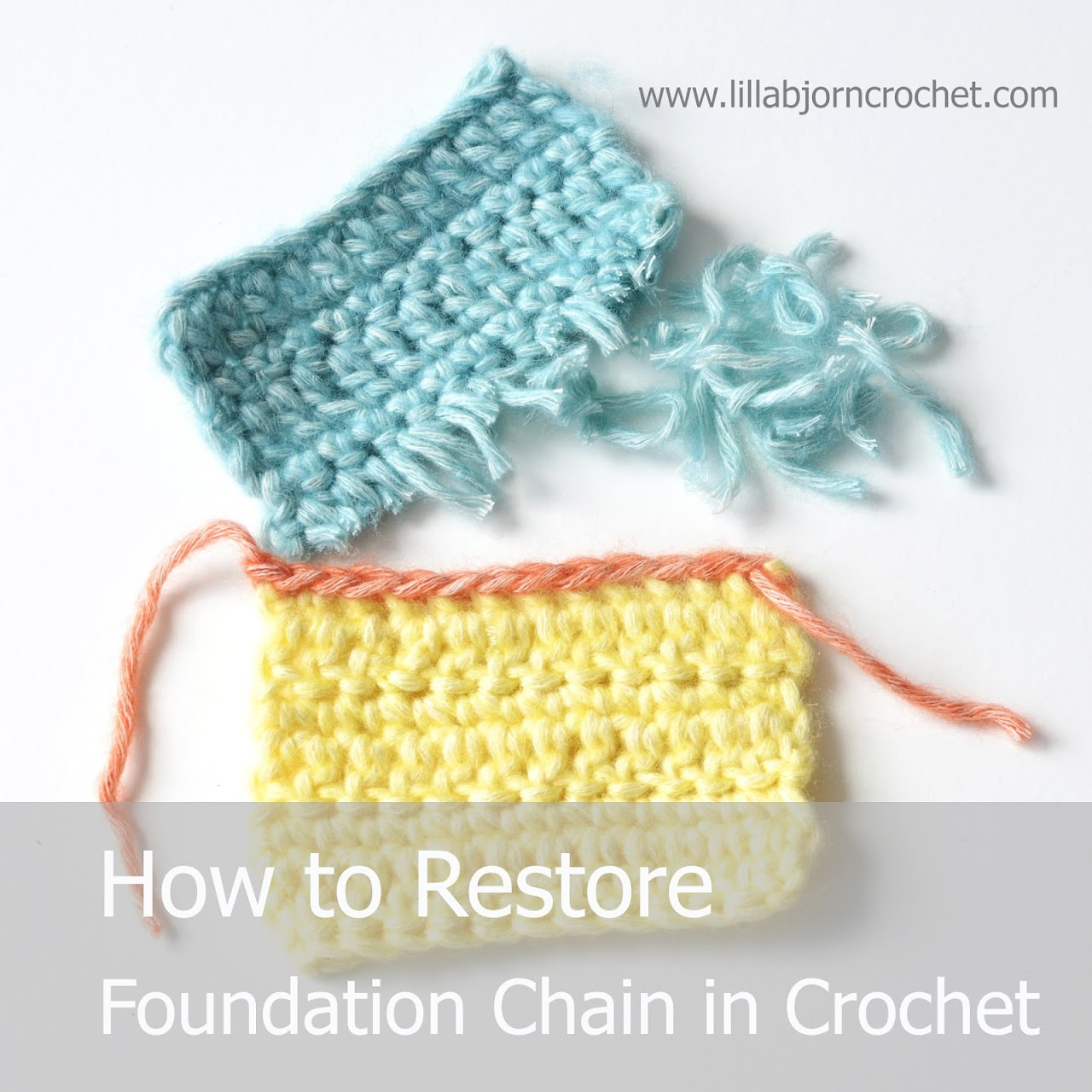 How to Restore Foundation Chain in Crochet: tutorial ...