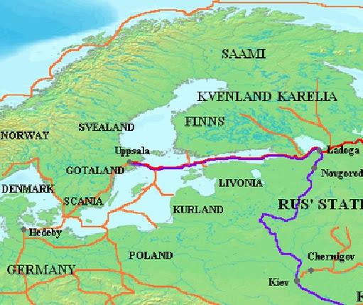 S Route Trade Varangian