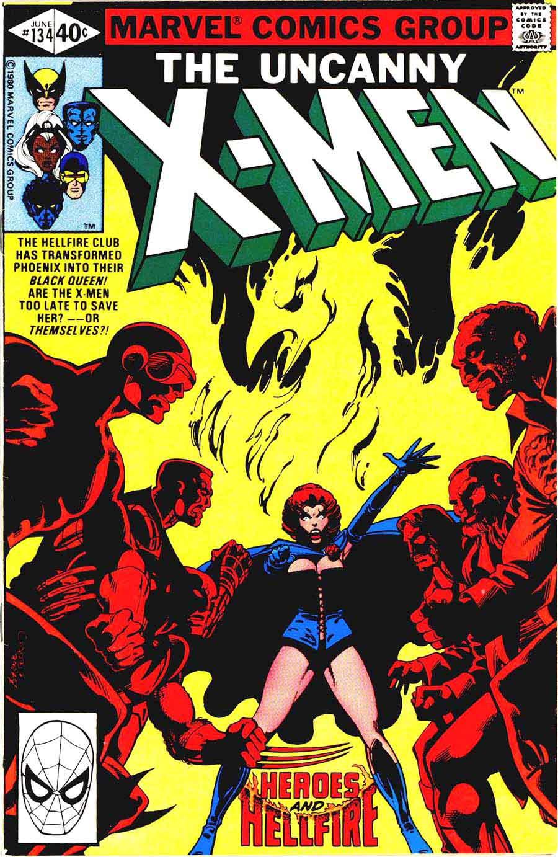 X-men v1 #134 marvel comic book cover art by John Byrne