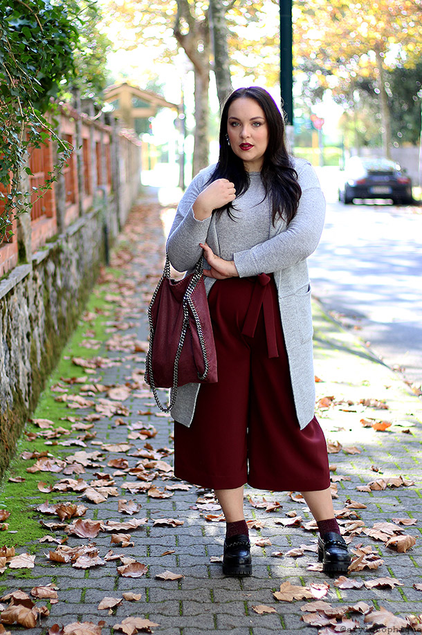 Iris Tinunin, Curvy, Blogger, Outfit, Cropped Pants, Wide Legs Pants, Pantaloni, Culottes