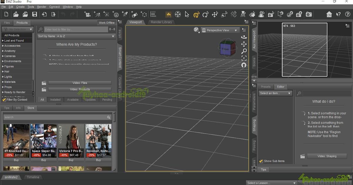Daz Studio 4.9.3.166 Pro Edition + Extra Addons Full ...