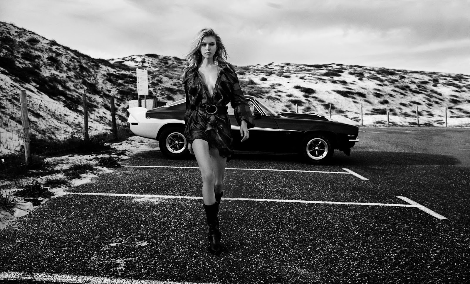 Redemption Spring Summer 2018 Campaign starring Stella Maxwell