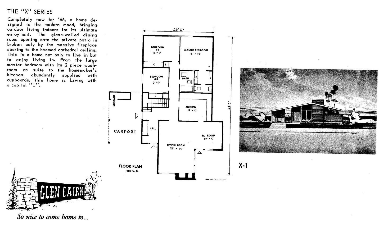 Mid-Century Modern and 1970s-Era Ottawa: CMHC house