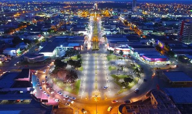 Sinop é a décima quarta maior cidade do Centro Oeste em 2016