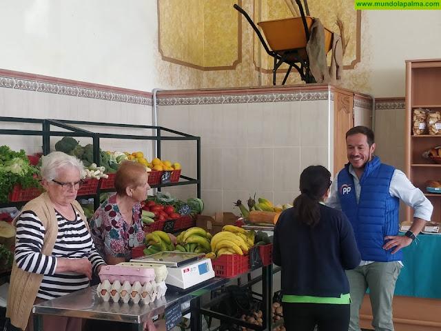 """Zapata: """"Debemos respaldar de manera real y efectiva el sector primario en la Palma"""""""