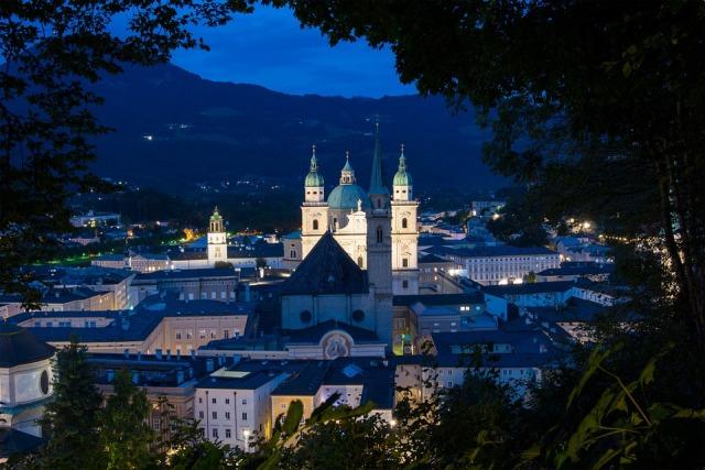 Mönchsberg, Salzburg, Austria