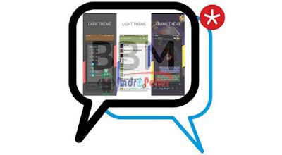 BBM MOD DELTA v3.5.5 Base 2.13.1.14 APK Terbaru Gratis