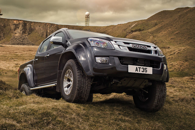 The new Isuzu D-Max Arctic Trucks AT35