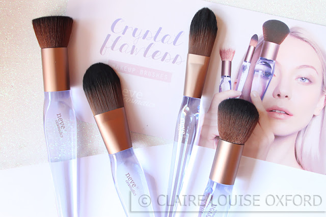 Neve Cosmetics Crystal Flawless Brushes