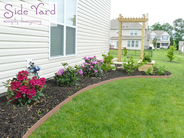 Landscaped Side Yard and Secret Garden ~ #garden #plant #website #HGTVGardens #spon