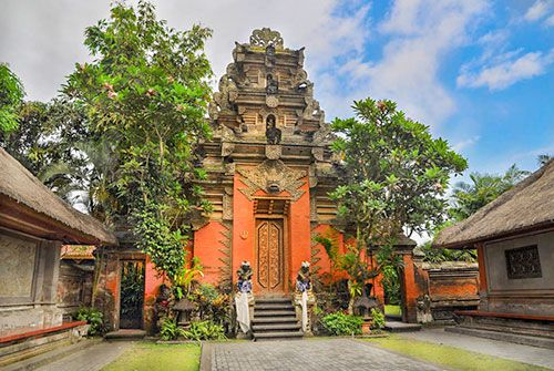 Puri Ubud Palace - The Royal Palace Ubud - Ubud Tour Bali - Day Trip Itinerary