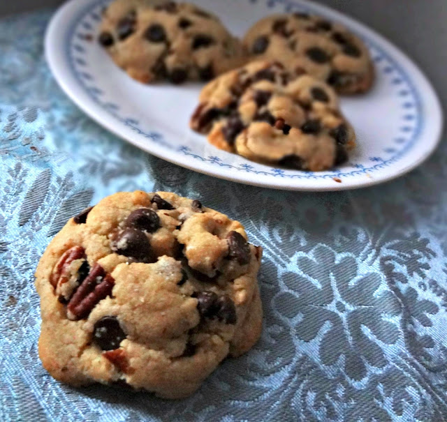 Brown Butter Chocolate Chip & Pecan Cookies