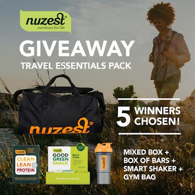 Nuzest July Giveaway