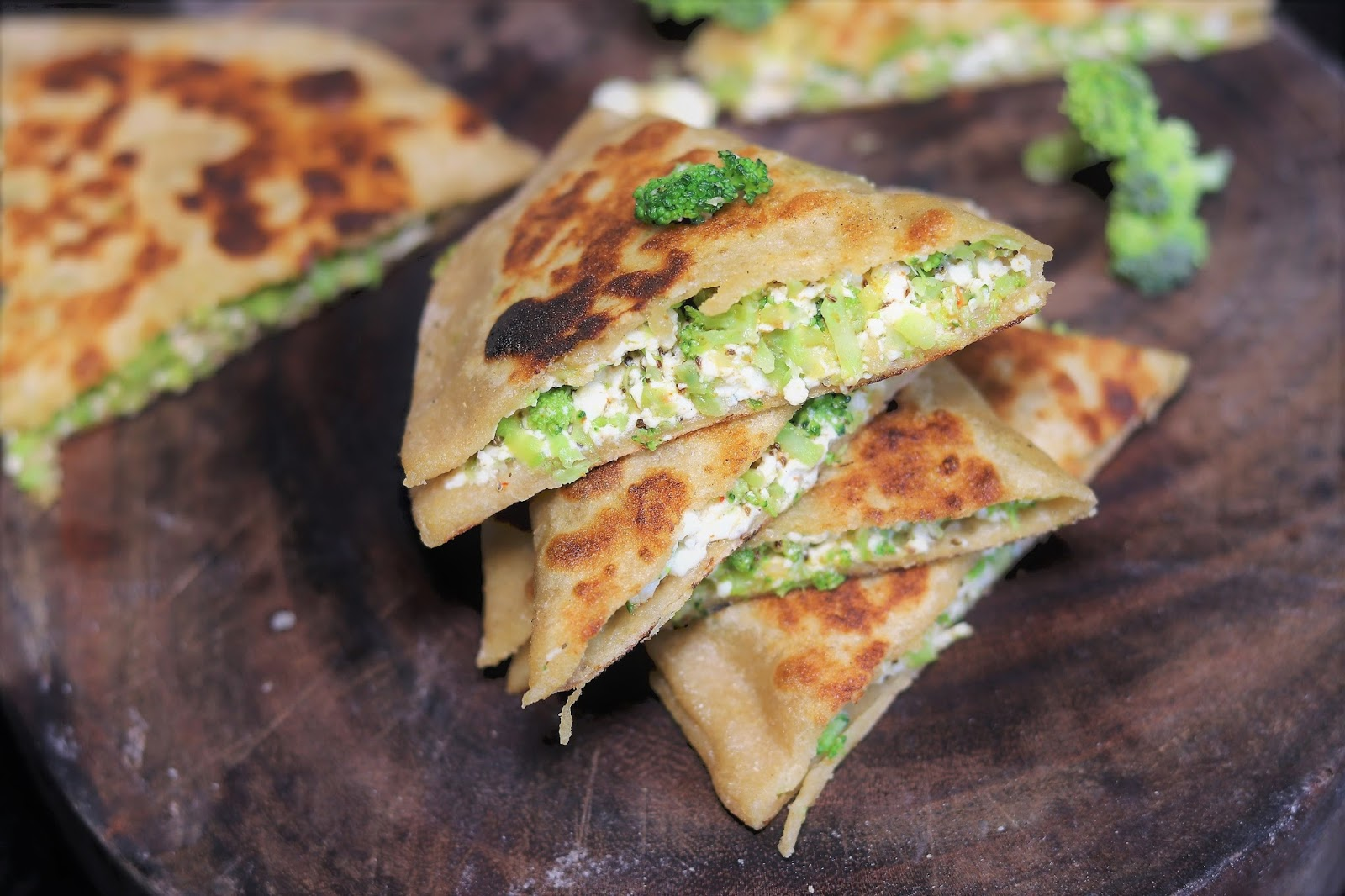 Image result for Broccoli Paratha
