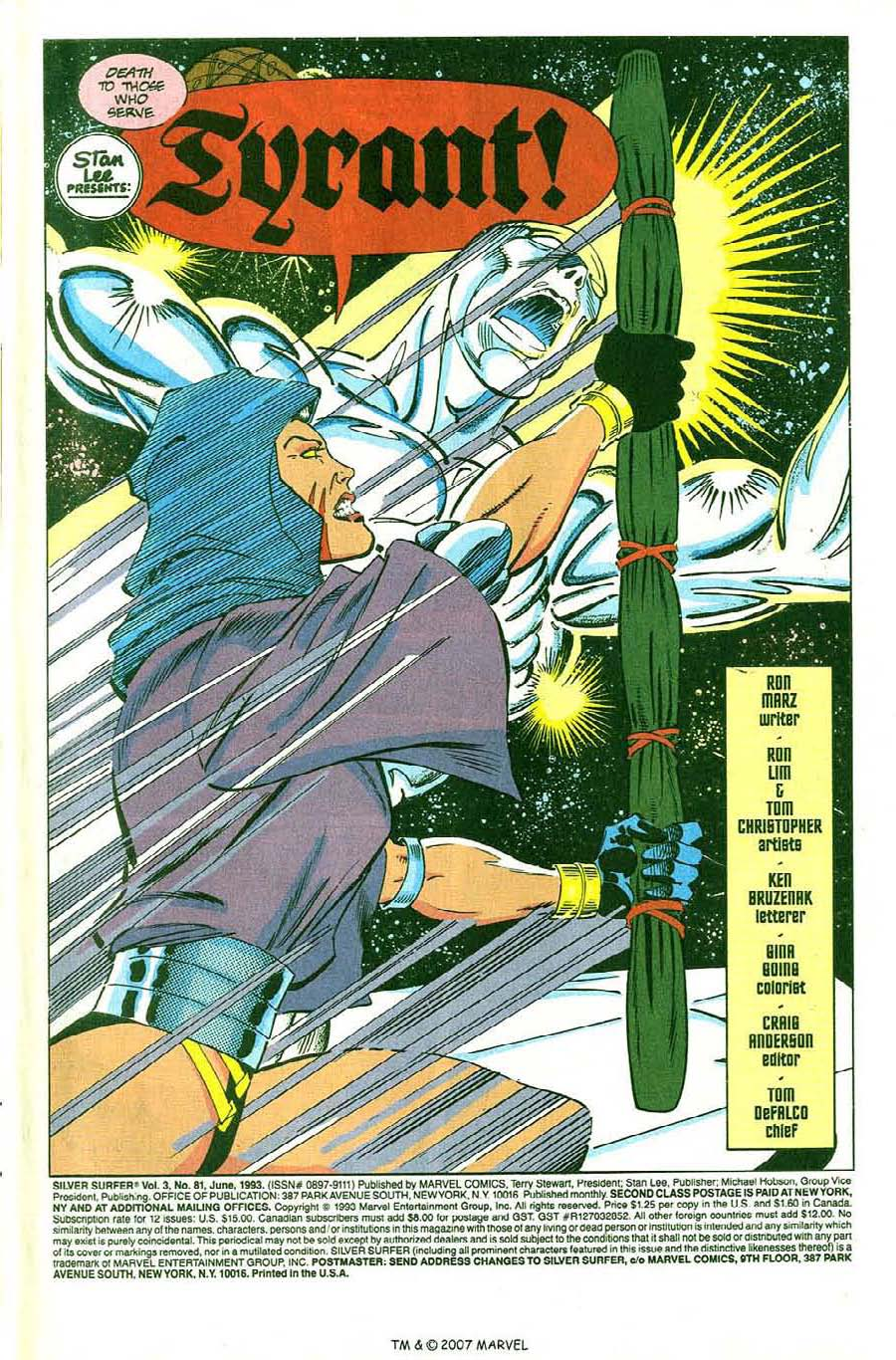 Read online Silver Surfer (1987) comic -  Issue #81 - 3