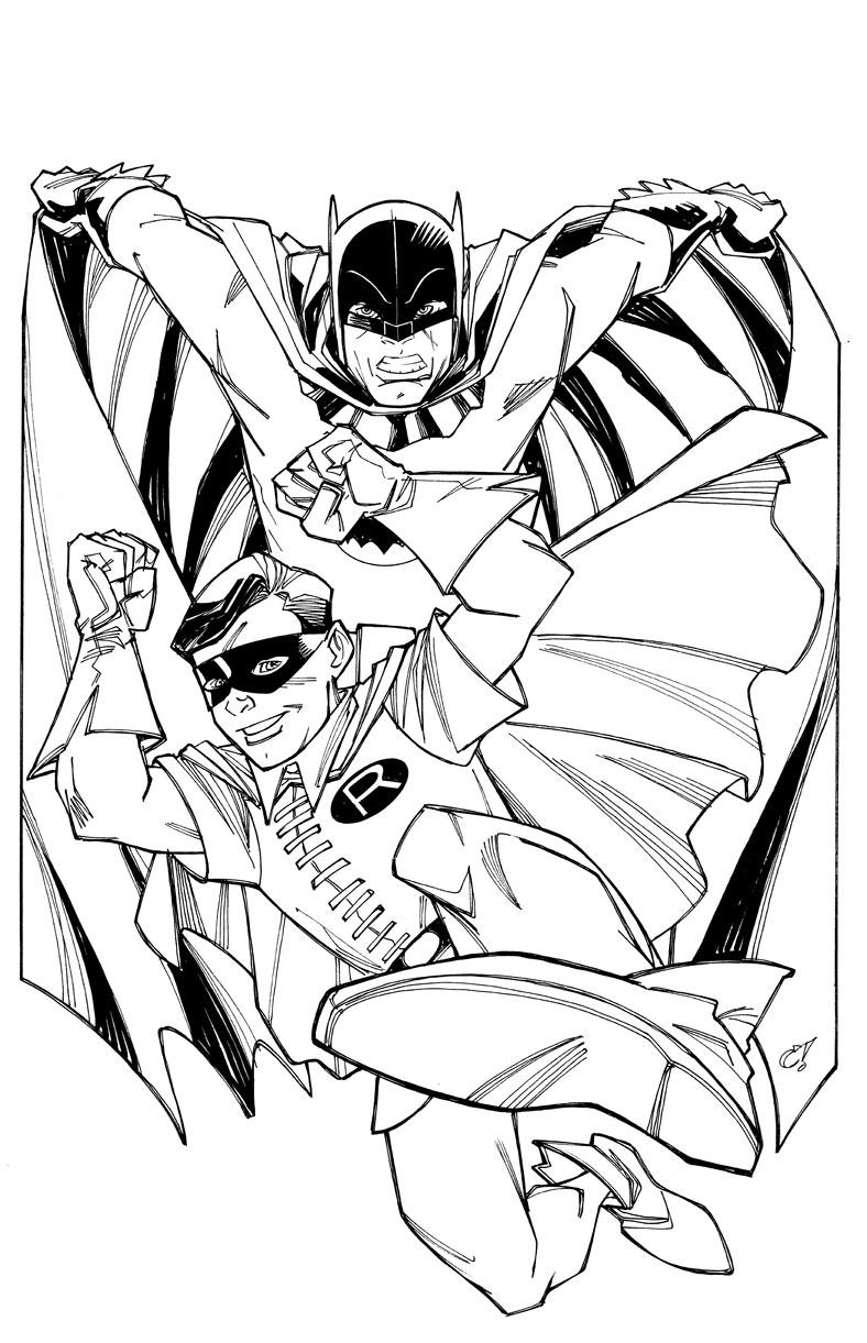 bliggity-'bloggity-bloo: batman '66 commission