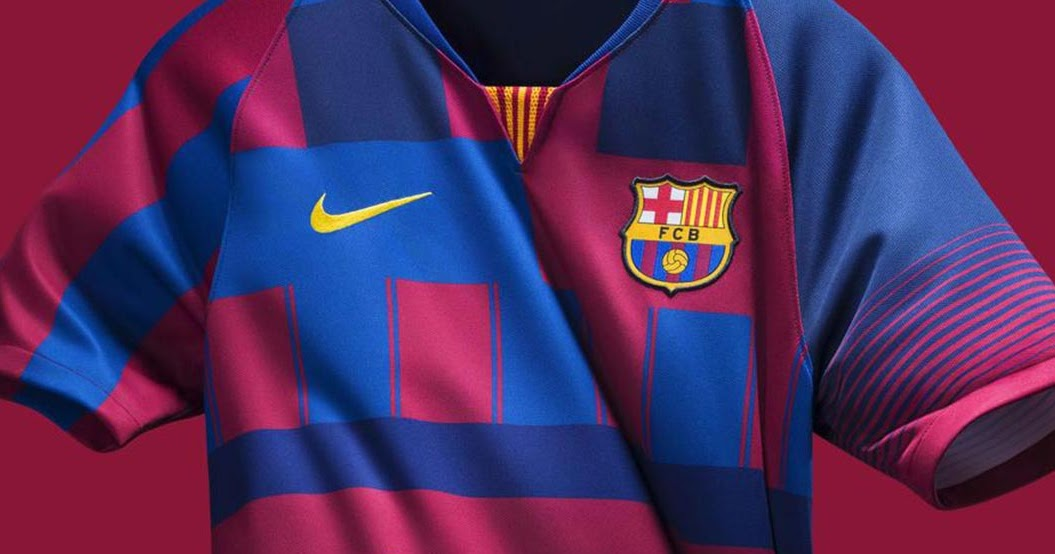 Nike FC Barcelona What The 20th Anniversary Jersey Released - Footy  Headlines 128cdc520