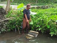 Gali Kolam Ikan,  Warga Cangkringan Temukan Batuan Bangunan  Candi