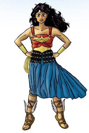 Wonder Woman Princess of Paradise