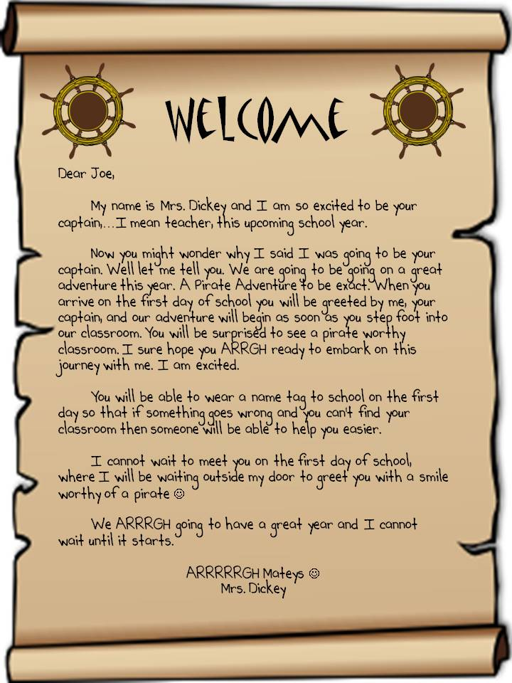 How To Write A Welcome Letter To Parents Ehow | Party Invitations ...