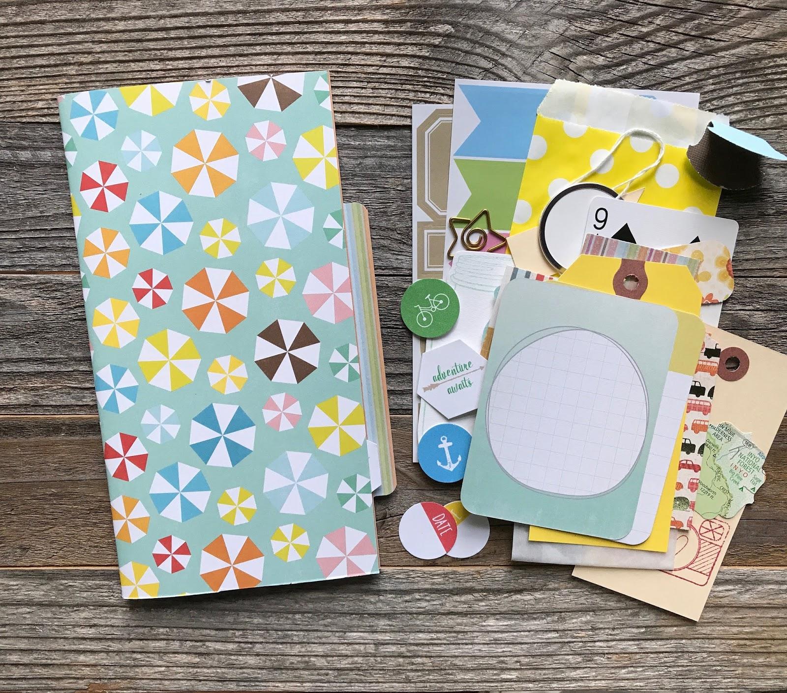 #smashbook #mixed media #midori #travelers #notebook