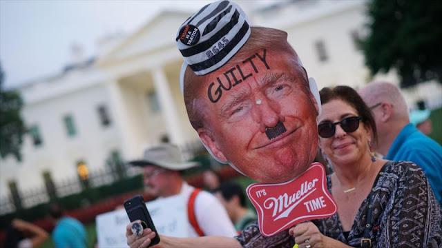 Estadounidenses expresan su enojo por declaraciones falsas de Trump