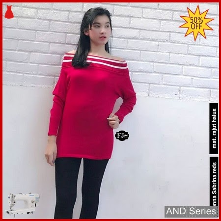 AND415 Baju Atasan Wanita Blouse Renna Sabrina BMGShop