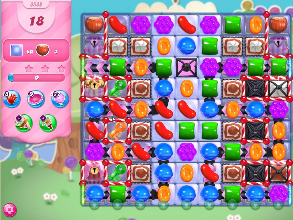 Candy Crush Saga level 3582