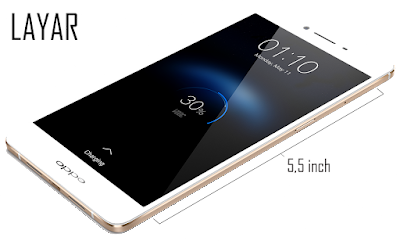 Layar OPPO R7s - Meistersdroid