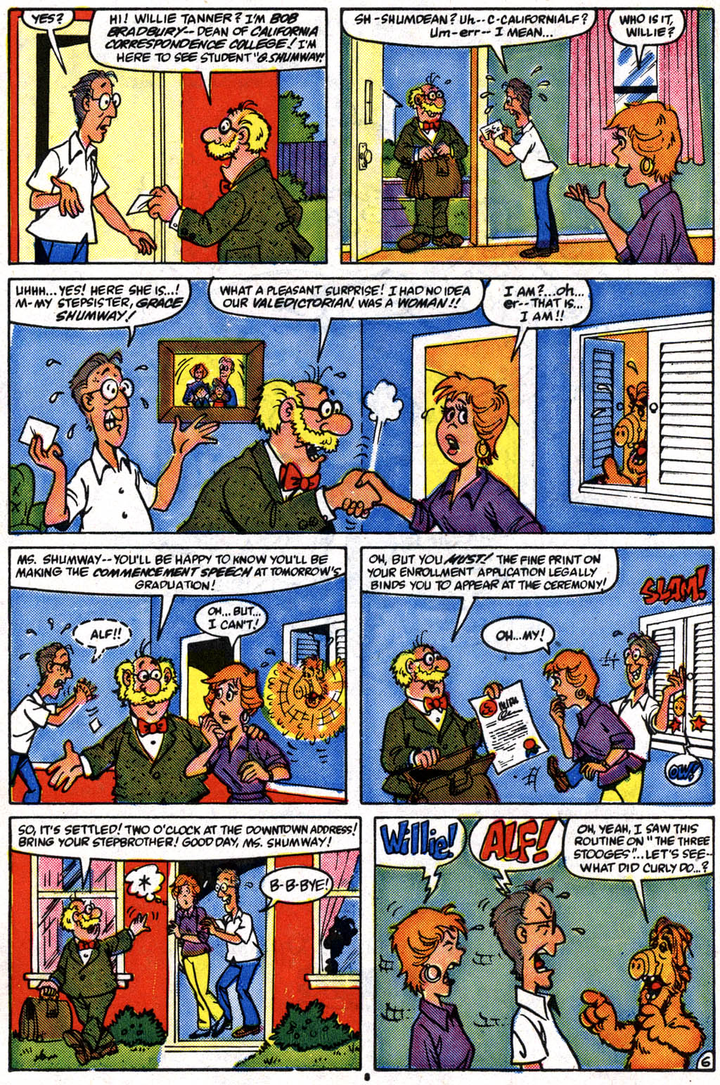 Read online ALF comic -  Issue #10 - 7