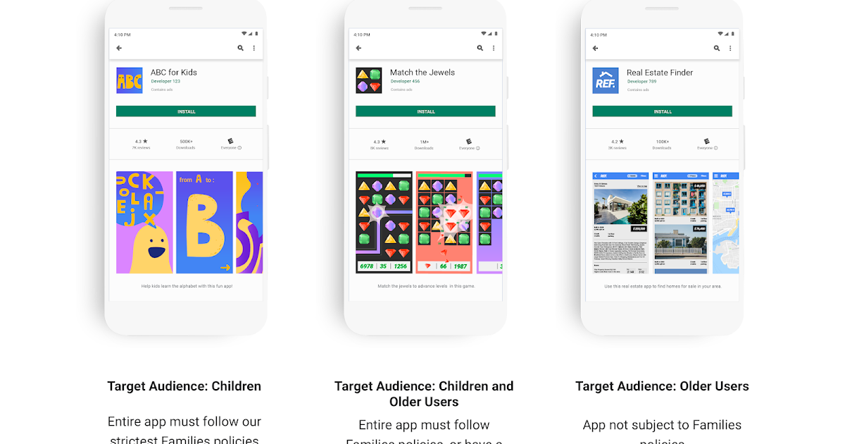 Android Developers Blog: Building a safer Google Play for kids