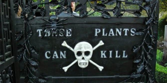Kebun Dipenuhi Tanaman Beracun