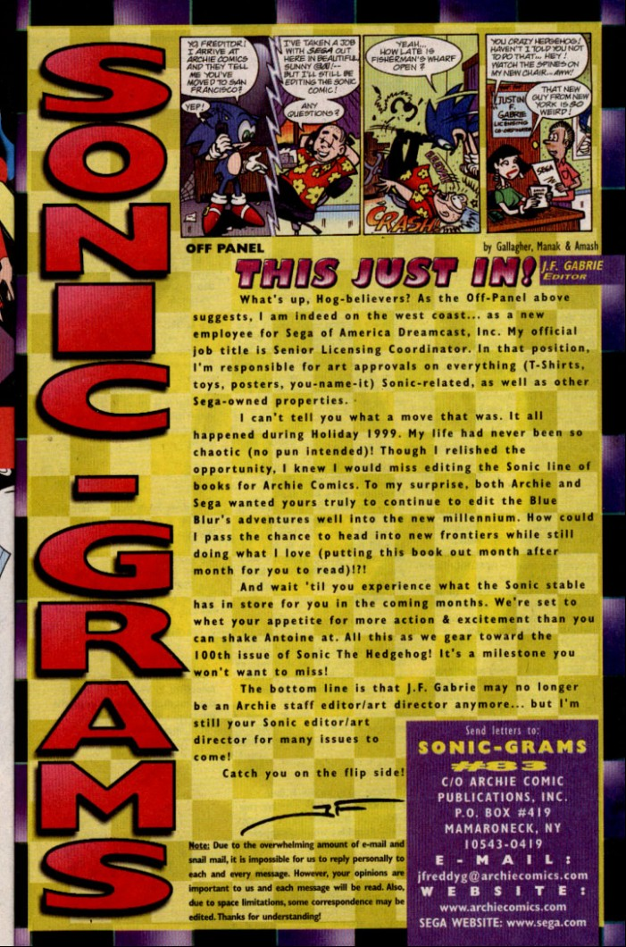 Read online Sonic The Hedgehog comic -  Issue #83 - 24