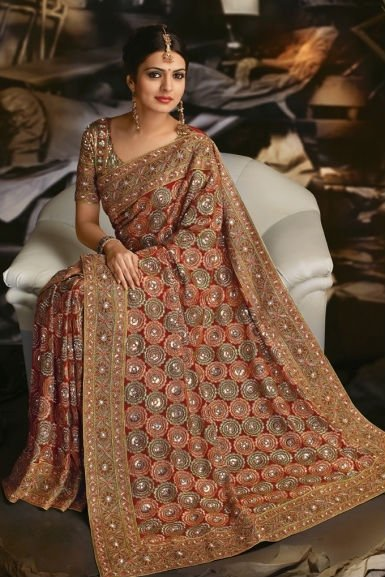 Style And Fashion Latest Saree Designs For Pakistani Women