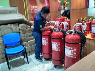 Garansi Tabung pemadam api