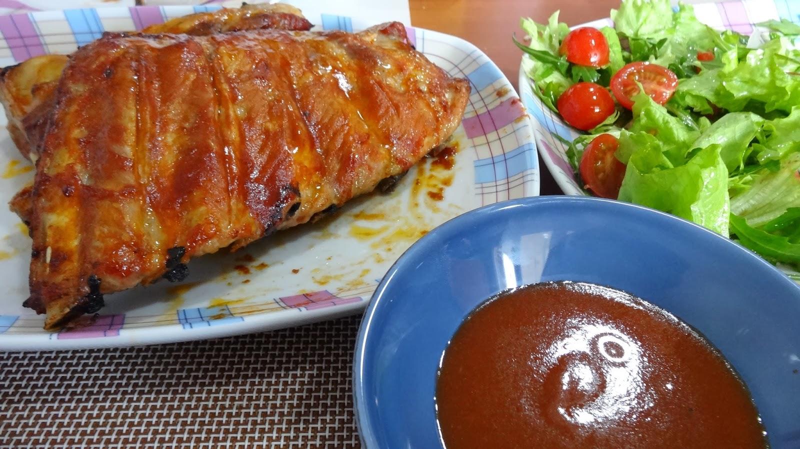 Salsa barbacoa r pida for Salsa barbacoa ingredientes