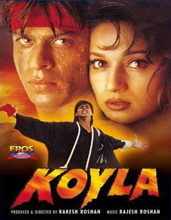 Poster Of Koyla 1997 Hindi 700MB HDRip 720p ESubs HEVC Watch Online Free Download downloadhub.in