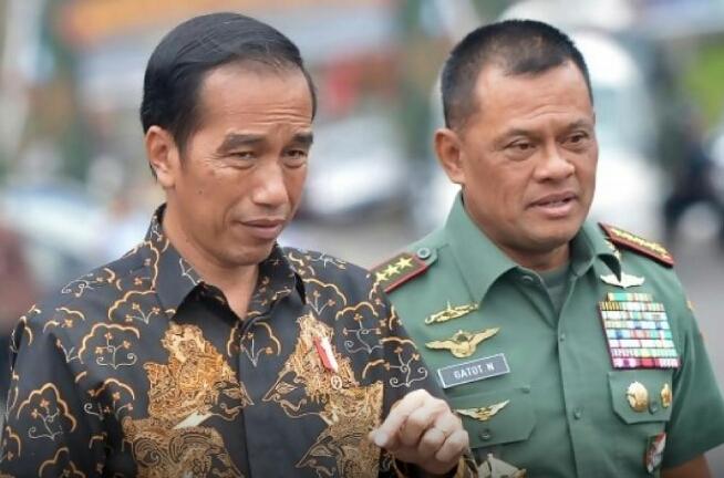 Nasdem Usul Gatot jadi Cawapres Jokowi di 2019