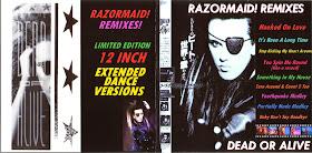 RETRO DISCO HI-NRG: Dead Or Alive - Razormaid! Remixes