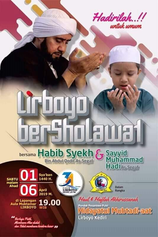 Lirboyo Bersholawat 2019 Bersama Habib Syekh