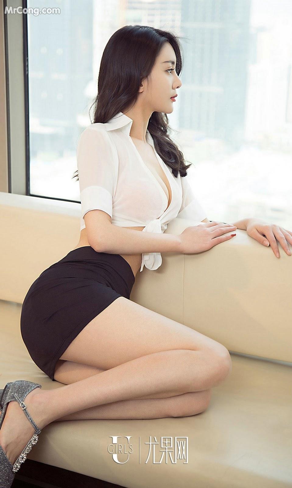 Image UGIRLS-Ai-You-Wu-App-No.1389-Lucy-MrCong.com-007 in post UGIRLS – Ai You Wu App No.1389: Người mẫu Lucy (35 ảnh)