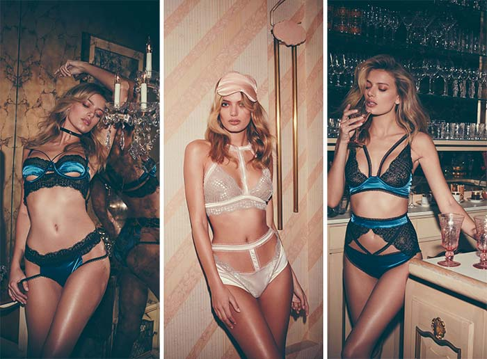 For Love and Lemons Skivvies Lingerie Holiday 2016 Lookbook