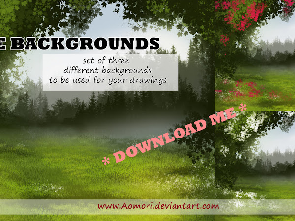 Download Set of Colorful Background Free
