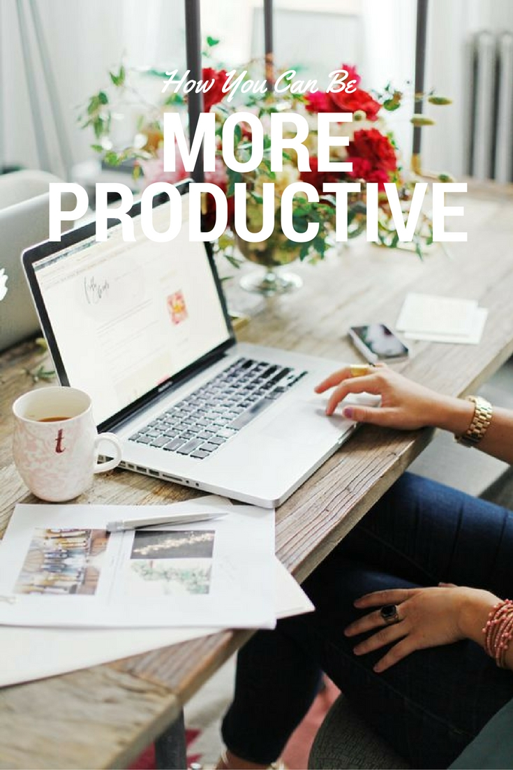10 easy ways to be more productive and get more done