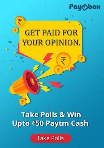 take polls earn paybox