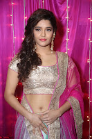 Ritika Sing in Golden Pink Choli Ghagra Cute Actress Ritika Sing ~  026.JPG