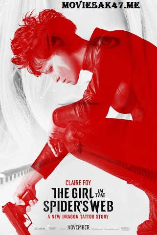 The Girl in the Spiders Web (2018) Hindi Dual Audio BluRay 720p 1GB [Hindi 5.1 + English] x264 Full Movie