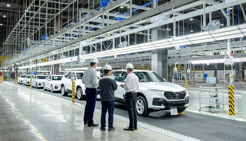 Nhà máy ô tô VinFast sẽ chính thức vận hành từ tháng 6/2019