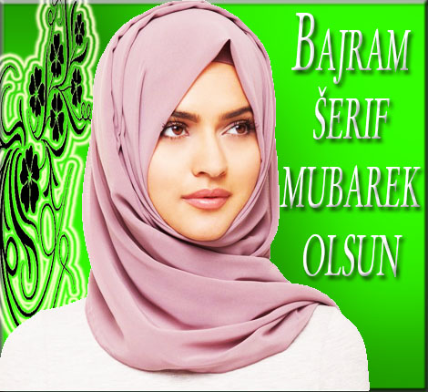 Bajramska čestitka Muslimanka